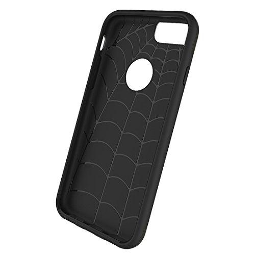 Phone Taschen & Schalen Für iPhone 6 / 6s, Einfache Brushed Texture 2 in 1 PC + TPU Kombination Schutzhülle ( Color : Army green )