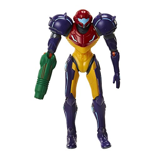 "World of Nintendo 91437 4"" Samus Gravity Suit with Power Ball Action Figure"