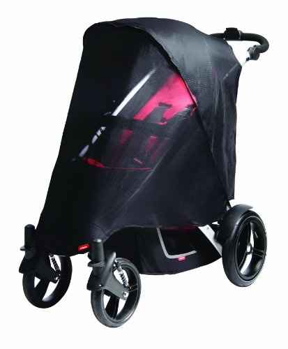 Phil&Teds Uv Mesh Cover For Vibe, Vibe 2 Or Verve Double Stroller