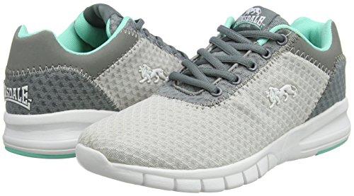 grey mint Gris Para Exterior Deporte Lonsdale Zapatillas grey Tydro Mujer De qFW8v0