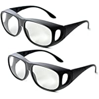 2Pair IMAX Passive Extra Large Lens 3D Glasses Eyewear for Cinema Movie