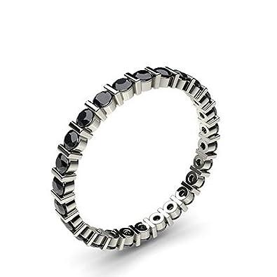 Amazon com: Jewels-Forum 0 72 TWC Black Diamonds Engagement