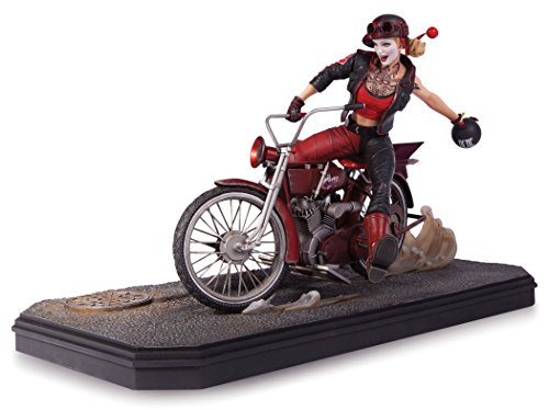 DC Collectibles Gotham City Garage: Harley Quinn Statue