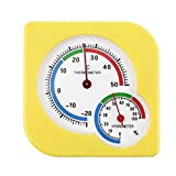 Liobaba Hygrometer Humidity Gauge Indicator Digital Indoor Thermometer Room Temperature and Humidity Monitor