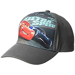 Disney Boys' Big Cars Ultra Speed Baseball Cap, Kid's, Multicolor, One Size