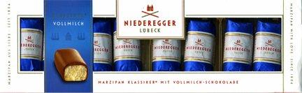 Niederegger Marzipan-Klassiker Whole Milk - 100g/3.5 (Niederegger Chocolate Marzipan)