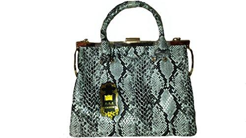 Handtasche, Designer Handtasche Schlange- Optik