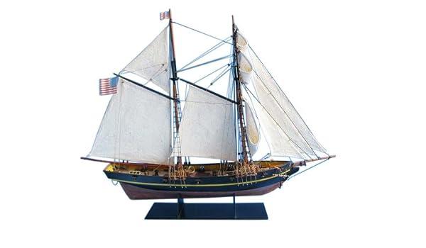 Amazon com: Hampton Nautical Dapper Tom Pirate Ship, 24