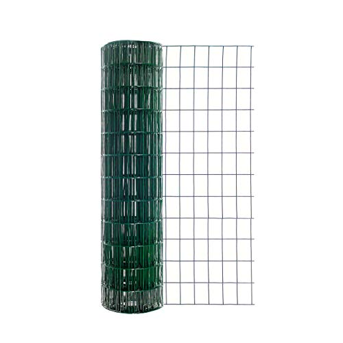 (Origin Point Garden Zone 36 Inches x 50 Feet 16-Gauge Green Vinyl Coated Garden Fence with 3 x 2-Inch Openings - 100050546)