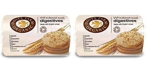 2 Pack    Doves Farm   Organic Digestive Biscuits Df Dig200   200G   2 Pack Bundle