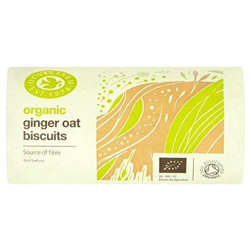 Doves Farm Organic Ginger Oat Biscuits - 200g (Cheese Biscuits Best)