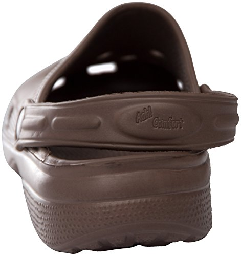 Sunville Mens Perforated Garden Clog Shoes,12 D(M) US,Brown