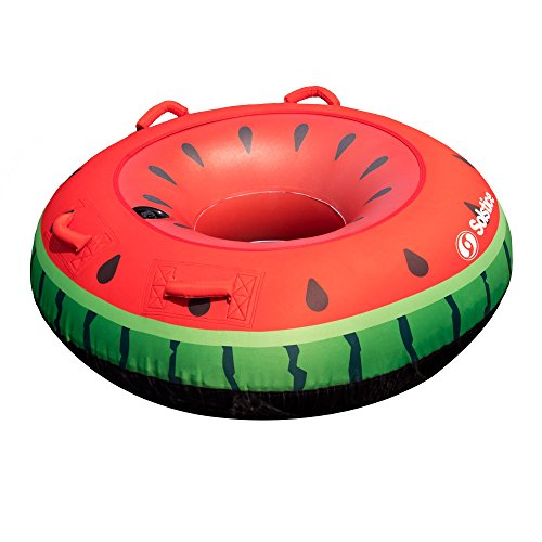 Swimline Inflatable Single Rider Watermelon Lake Ocean Water Towable Tube Float (6 Pack) by Swimline (Image #1)
