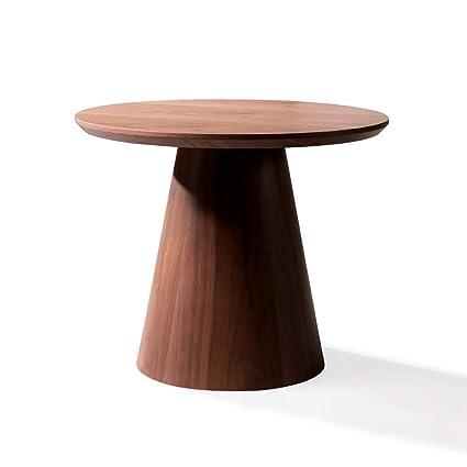 Decome Mini Bar Tavolino in Legno Colore Noce: Amazon.it