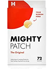 Mighty Patch Original - Hydrocolloid Acne Pimple Patch Spot Treatment (72 count) for Face, Vegan, Cruelty-Free