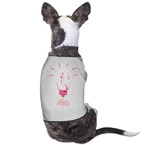 Nicokee Puppy Dogs Shirts Costume Light Bulb Pets Clothing Warm Vest T-Shirt M]()