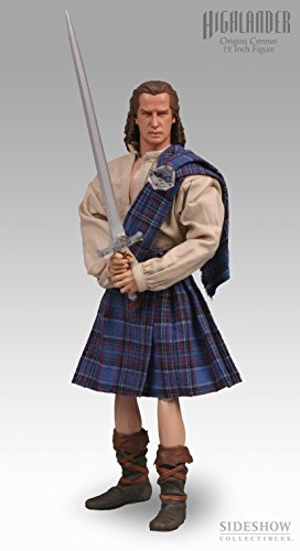 Sideshow Collectibles Highlander 12 Inch Action Figure Origins Conner - Sideshow Action Inch Figure 12 Toy