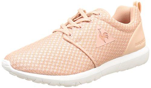 Le Coq Sportif Women's Dynacomf W Low-Top Sneakers, Black Pink (Rose Cloud Rose Cloud)