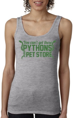 Crazy Dog TShirts - Women's Pythons Tank Top Funny Lifting Shirt Muscles Tank For Women - Divertente Donna Canotta