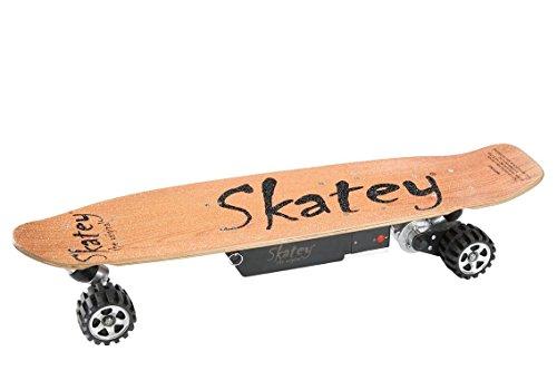 Skatey-800-W-Offroad-Wood-lectrique-Longboard-Skateboard-lectrique