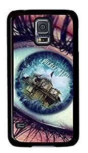 iCustomonline Pierce The Veil PC Black Case Cover Skin For Samsung Galaxy S5 I9600