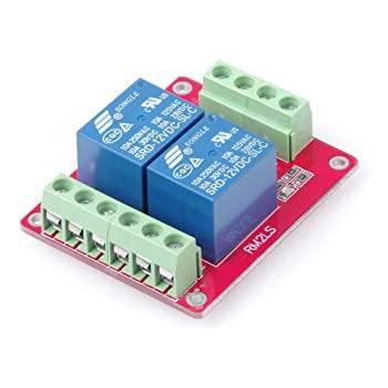 DC 24V 16-Channel 10A Relay Control Module Low Level Trigger Red /& Blue Indicators Arduino