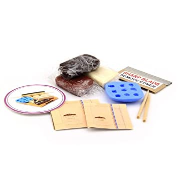 Mytinyworld Dolls House 9 Piece Chocolate Making Kit With Silicone Mould