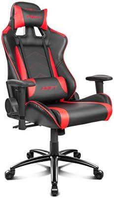 Comprar Drift DR150BR - Silla Gaming Profesional, (Poilipiel Alta Calidad, Ergonómica), Color Negro/Rojo