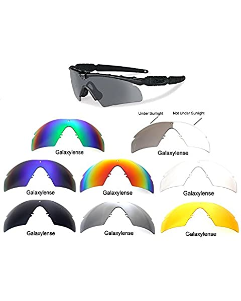 7c5064f7256 Galaxy Replacement Lenses Oakley Si Ballistic M Frame 2.0 Z87 8 Color Pairs  Special Offer!