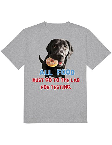 CloseoutZone Labrador Dog Lovers All Food Must Go To Lab For Testing ()