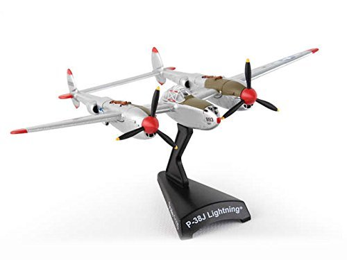 Daron Worldwide Trading Postage Stamp P-38J Lightning Marge 1/115 Dick Bong Airplane Model