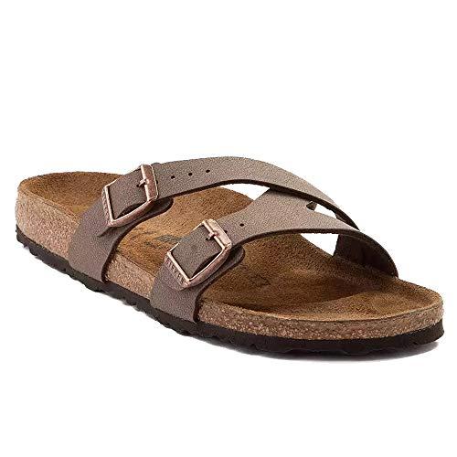 08c48fd13eba0 Birkenstock New Women's Yao Balance Slide Sandal Mocha BF 40 R