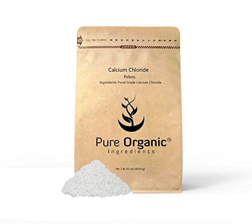 Calcium Chloride (2 lb (32 oz)) Highest Quality, Food Grade, Wine making, Home Brew, Cheese Making, Eco-Friendly Packaging (Also available in 4 oz & 1 lb)