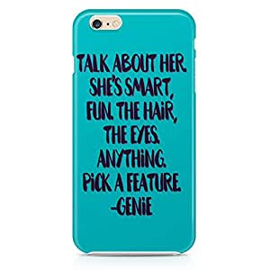 Loud Universe Aladding Quote Genie Quote iPhone 6 Case Aladdin Classic Cartoon Network iPhone 6 Cover with 3d Wrap around Edges