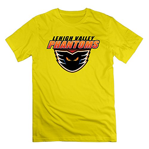 Lehigh Phantoms Logo Yellow Men's Sport Shirt For Men Size - The Australia T Phantom Shirts