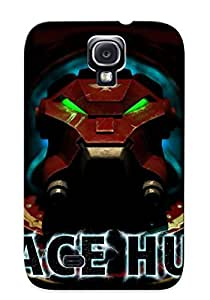 New Fashionable Crazinesswith BDXqLfq3619acISV Cover Case Specially Made For Galaxy S4(space Hulk)
