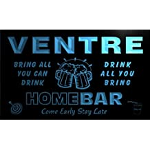 q46777-b VENTRE Family Name Home Bar Beer Mug Cheers Neon Light Sign