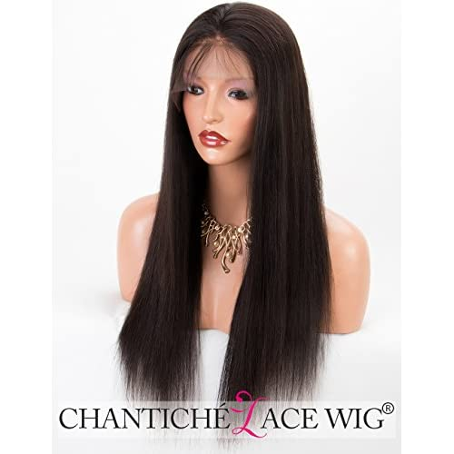 Chantiche Silky Straight Human Hair Wig, Brazilian Lace Front Wigs Human Hair for Women 22inch #1 supplier