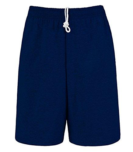 - Fruit of the Loom Men's Jersey Short J.Navy XL