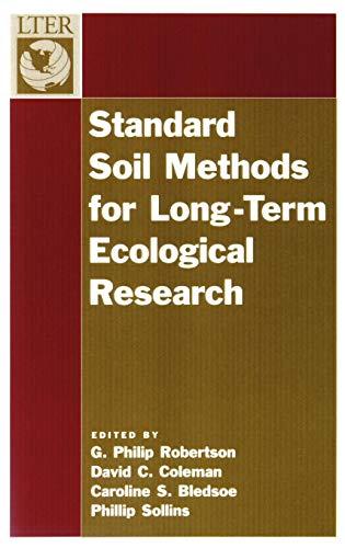 (Standard Soil Methods for Long-Term Ecological Research (Long-Term Ecological Research Network Series) )