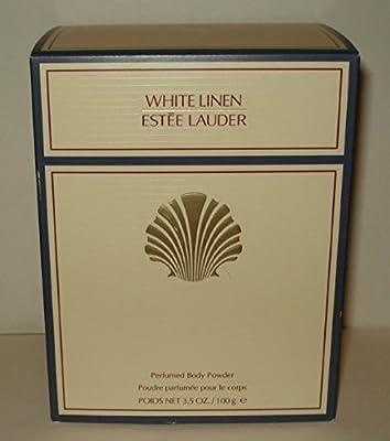 Estee Lauder White Linen Perfumed Body Powder With Puff - 100g/3.4oz