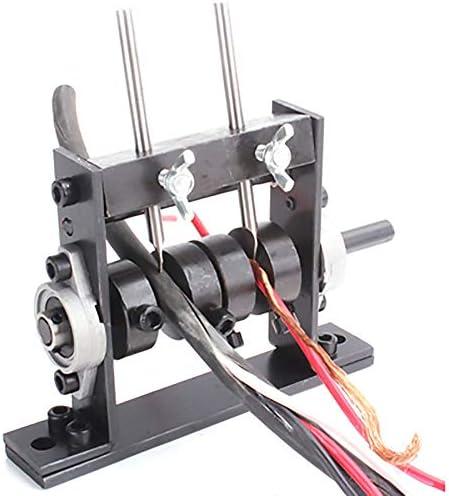 ワイヤーストリッパー 剥線器 Φ1mm-Φ30mm ダブル刃付き ケーブルストリッパー ハンドル式 ワイヤー適用 卓上ケーブル剥線器 家庭用 業務用 (引き線式)