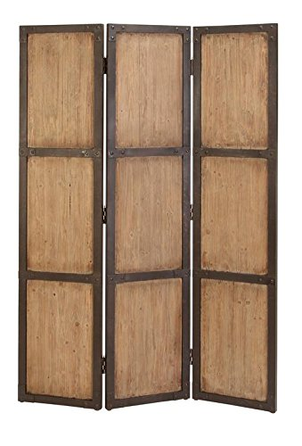 Deco 79 69157 Wood Screen 48 Inches Wide For Decorative Protection, 48