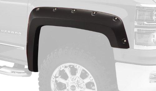 Bushwacker 40119-02 Front Pocket Style Fender Flare for Chevrolet - Pair