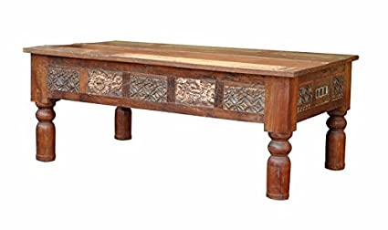 Terrific Amazon Com Barn Wood Coffee Table Rustic Vintage Caraccident5 Cool Chair Designs And Ideas Caraccident5Info