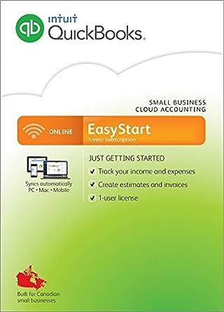 Intuit Quickbooks ONLINE EASYSTART-Bilingual