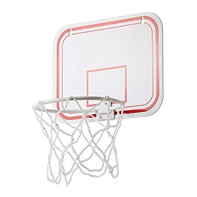 vmree Pro Mini Basketball Hoop, Over The Door Mounted Basketball Hoop Indoor Outdoor Hanging Basketball Hoop, Kids Basketball Hoop & Ball (White, 20 × 16cm): Toys & Games