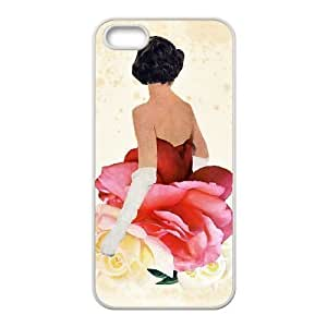 iPhone 4 4s Cell Phone Case White MAY QUEEN Hjfiq