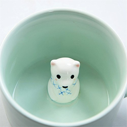 ZaH 300ml 3D Animal Cup Morning Mug, Bear by ZaH