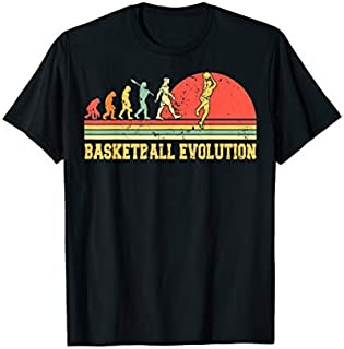 [Featured] Vintage Retro Basketball Evolution Basketball Player Gifts in ALL styles | Size S - 5XL